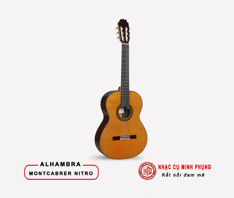 Đàn Guitar Classic Alhambra Montcabrer Nitro