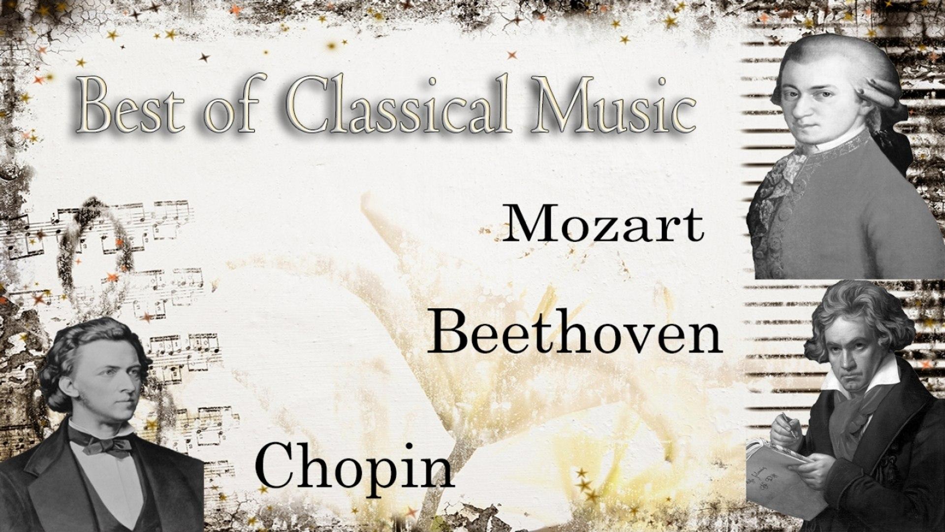 Mozart, Chopin và Beethoven