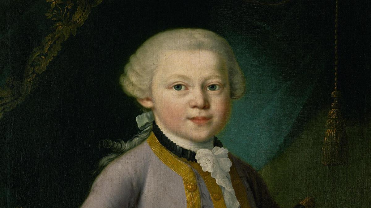 Mozart là người yêu toán học