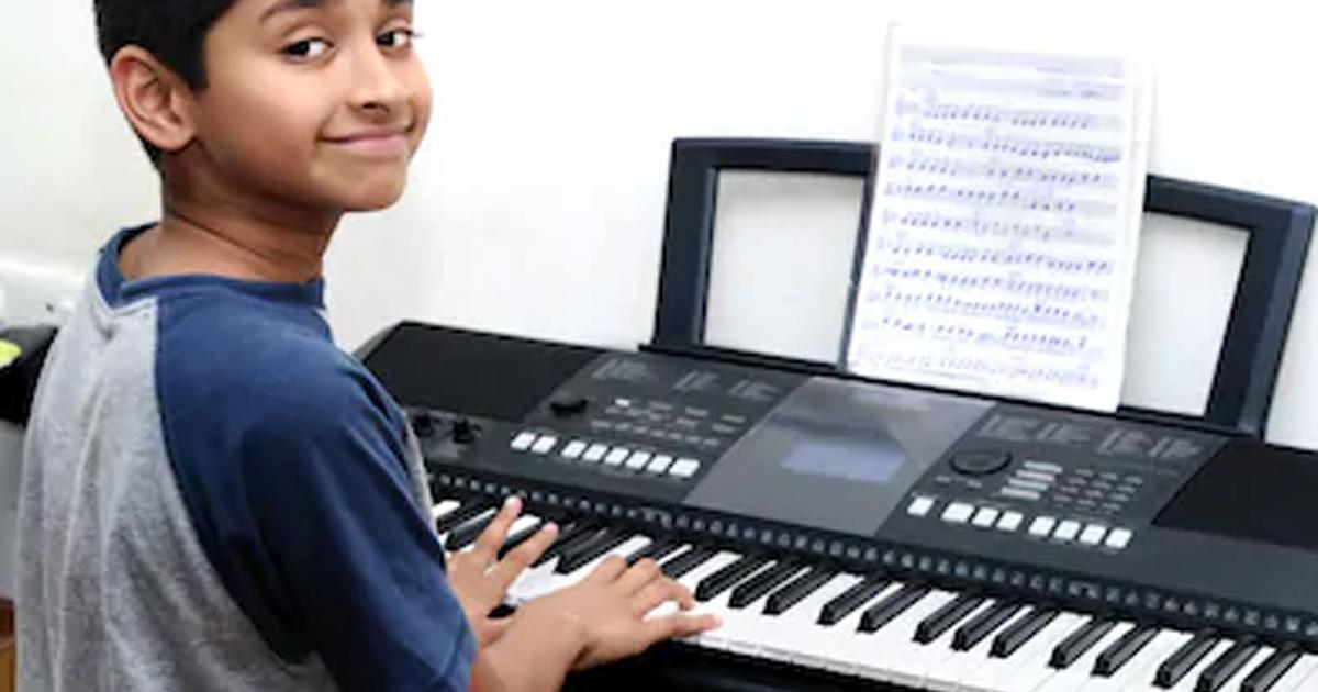 Chọn đàn organ cho bé có số phím không phù hợp