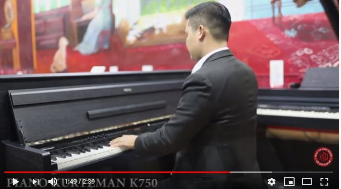 ĐÀN PIANO KURTZMAN K750 - NIỆM KHÚC CUỐI