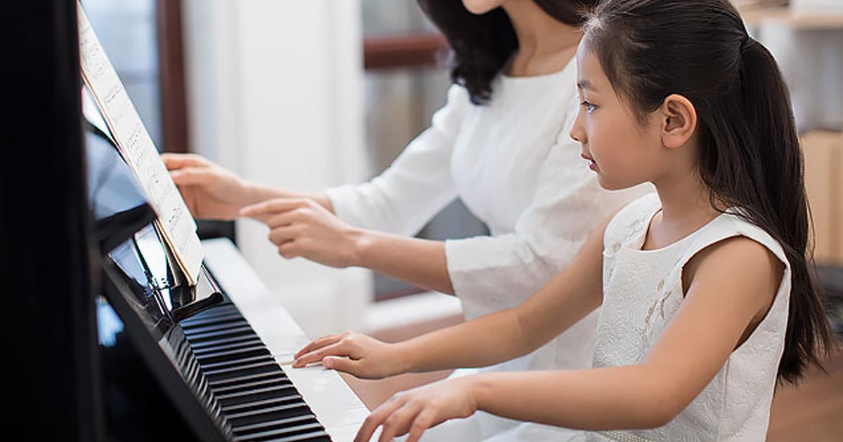 Trẻ em có thể học nhạc cụ từ khi nào