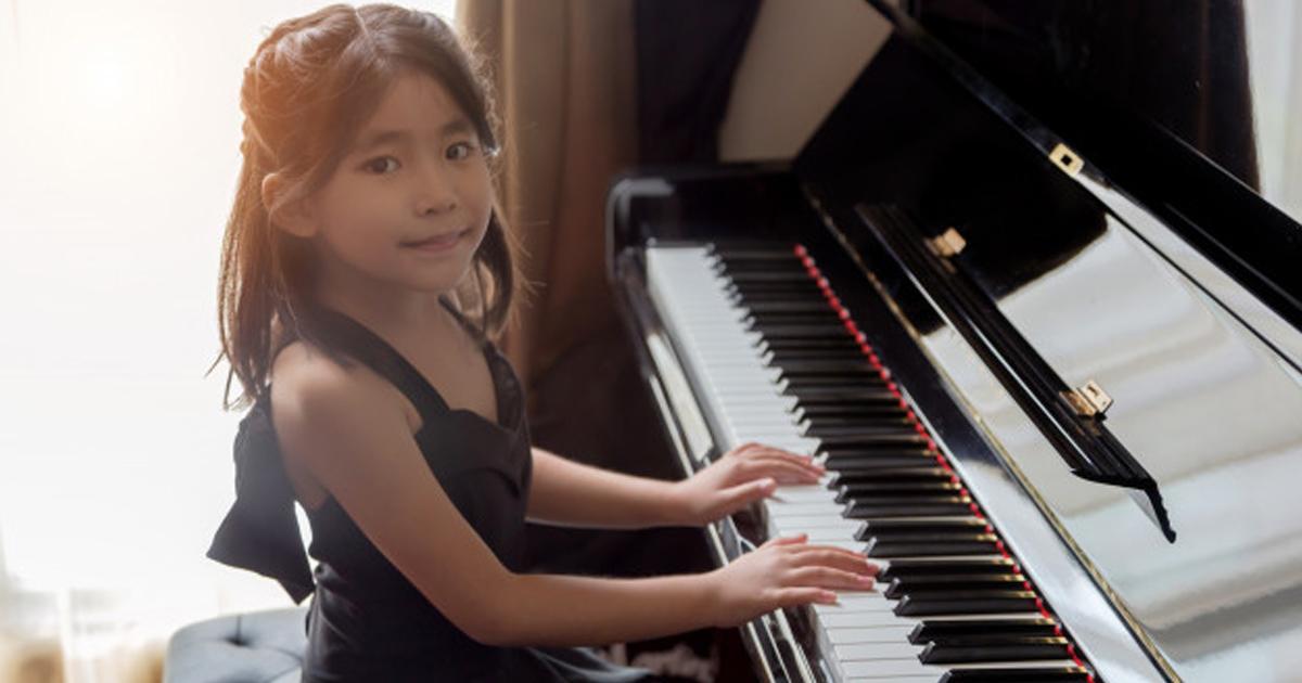 Những lưu ý khi cho bé học piano từ sớm
