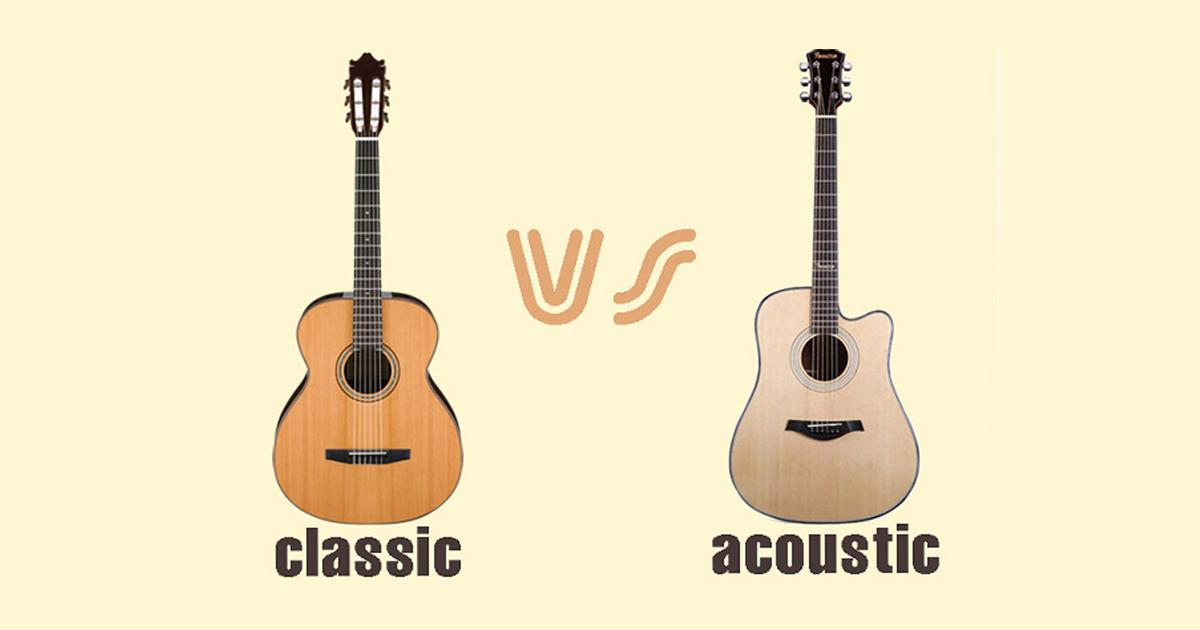 Nên Mua Đàn Guitar Acoustic Cho Người Mới Học Hay Mua Đàn Guitar Classic?