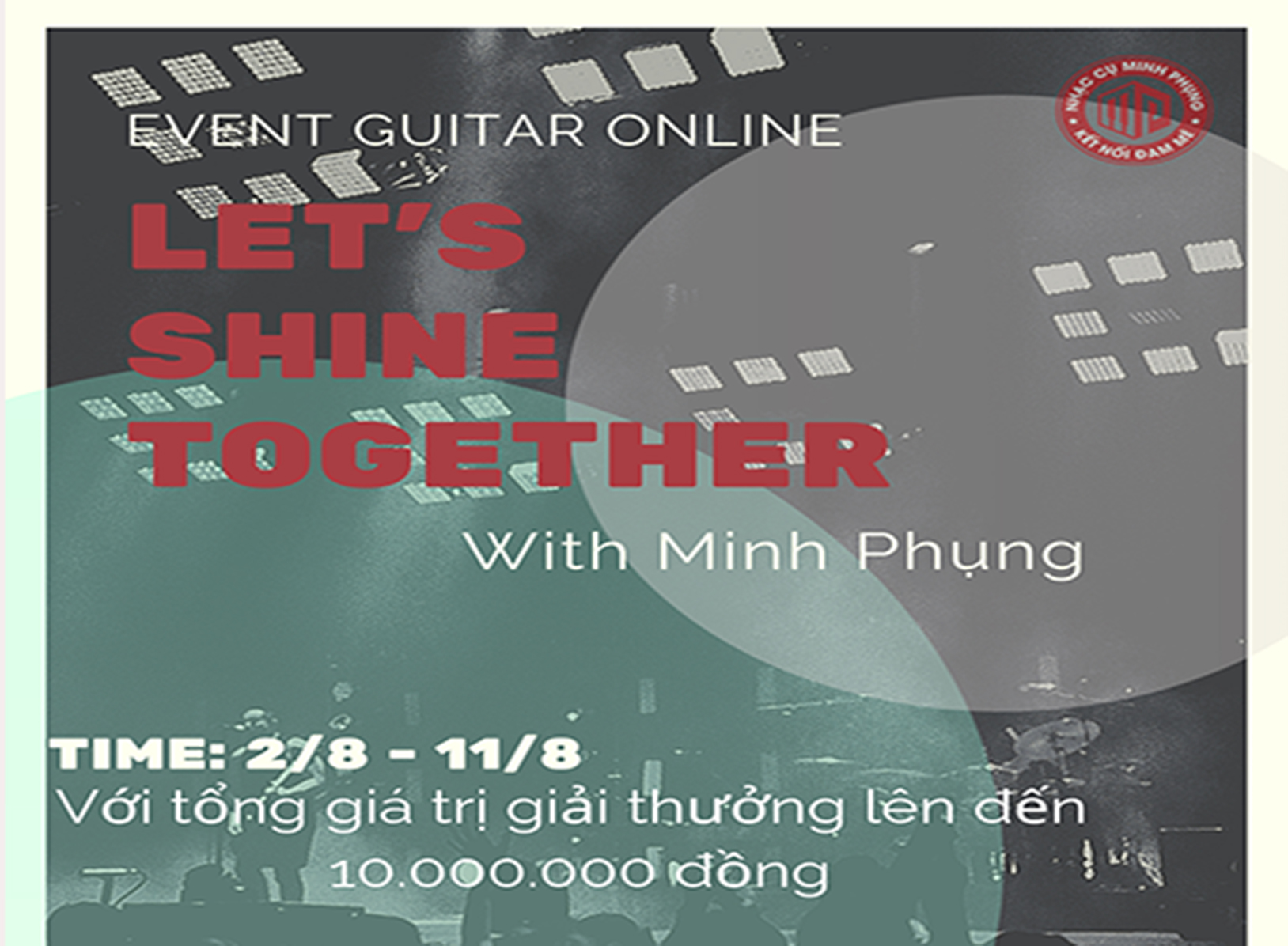 CUỘC THI GUITAR ONLINE LET'S SHINE TOGETHER