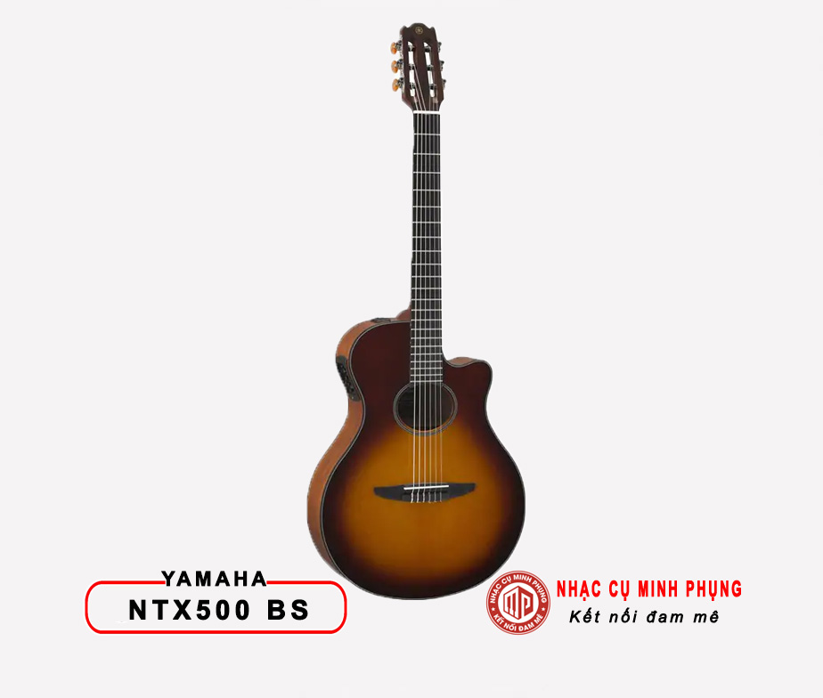 Đàn Guitar Classic Yamaha NTX500 BROWN SUNBURST