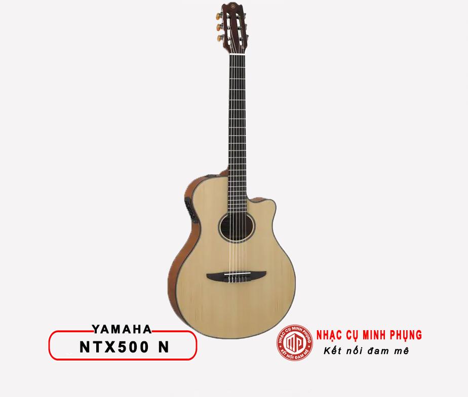 Đàn Guitar Classic Yamaha NTX500 Natural