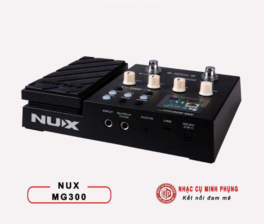 Phơ Guitar (Multi Effects) Nux MG-300
