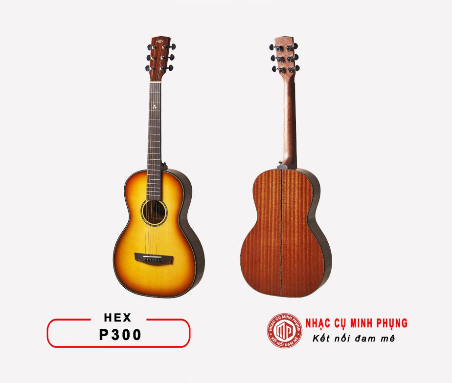 Đàn Guitar Acoustic Hex P300
