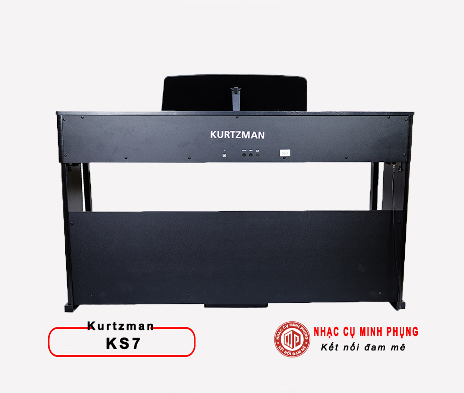 Piano điện Kurtzman KS7 mặt sau