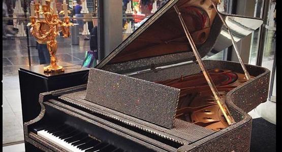 7 CÂY ĐÀN PIANO ĐẶC BIỆT NHẤT THẾ GIỚI