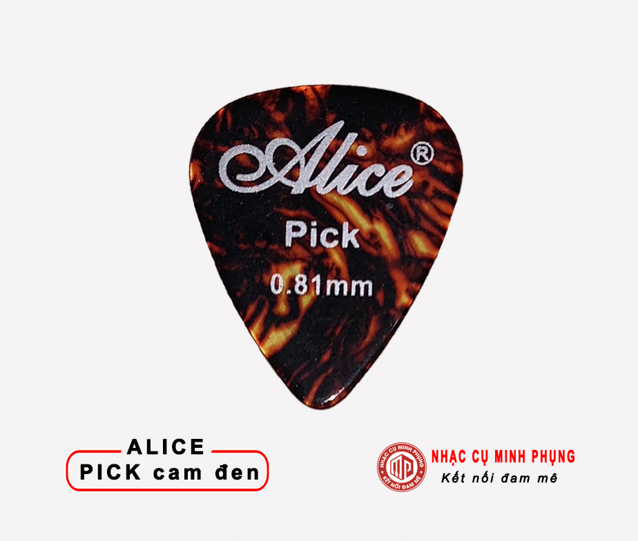 PHÍM GẢY GUITAR ALICE (PICK GUITAR)
