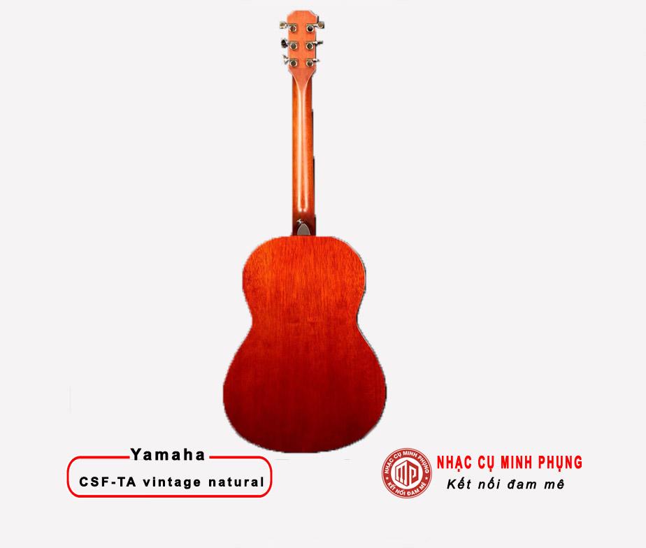 Đàn Guitar Classic Yamaha CSF-TA Vintage Natural