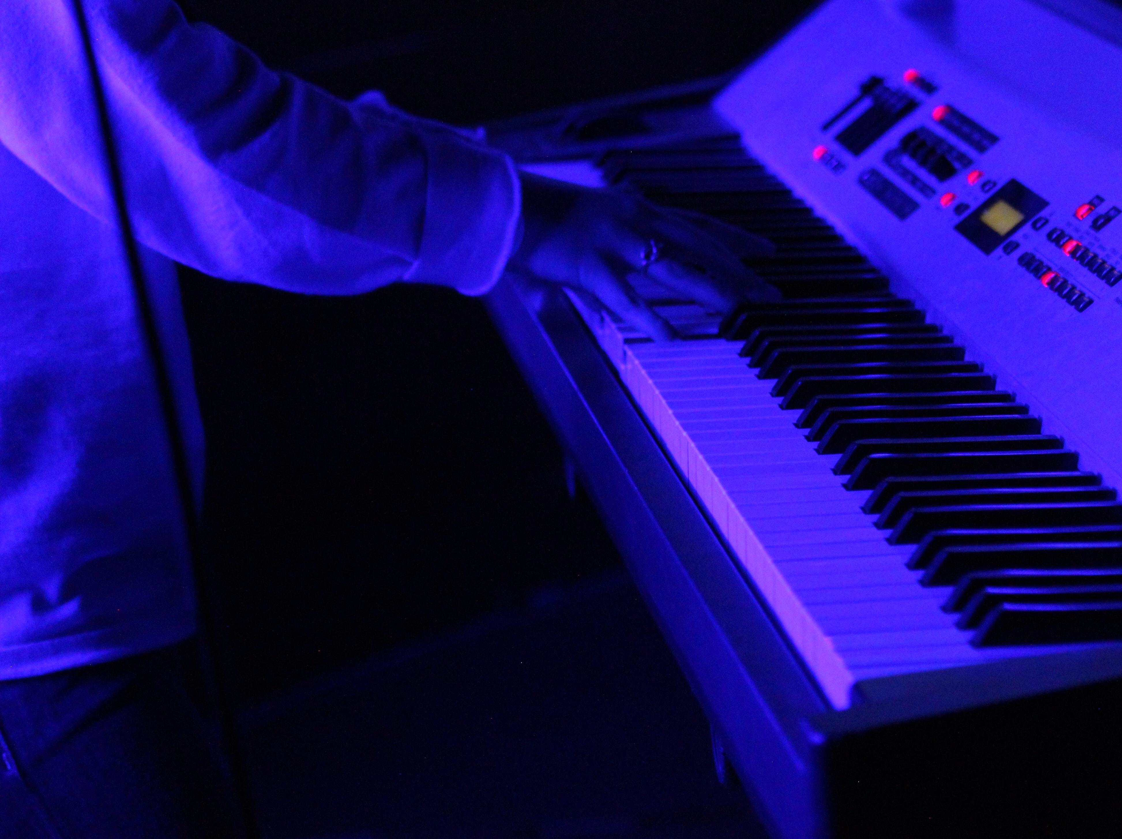 Các bộ phận của một cây đàn Piano điện