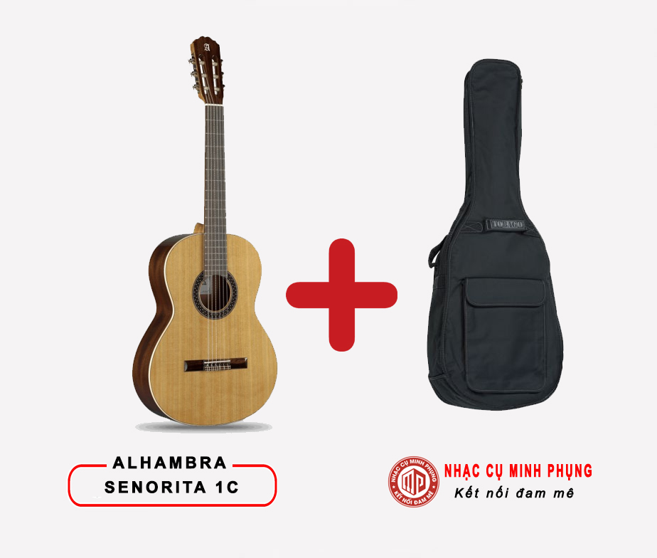Đàn Guitar Classic Alhambra Senorita 1C