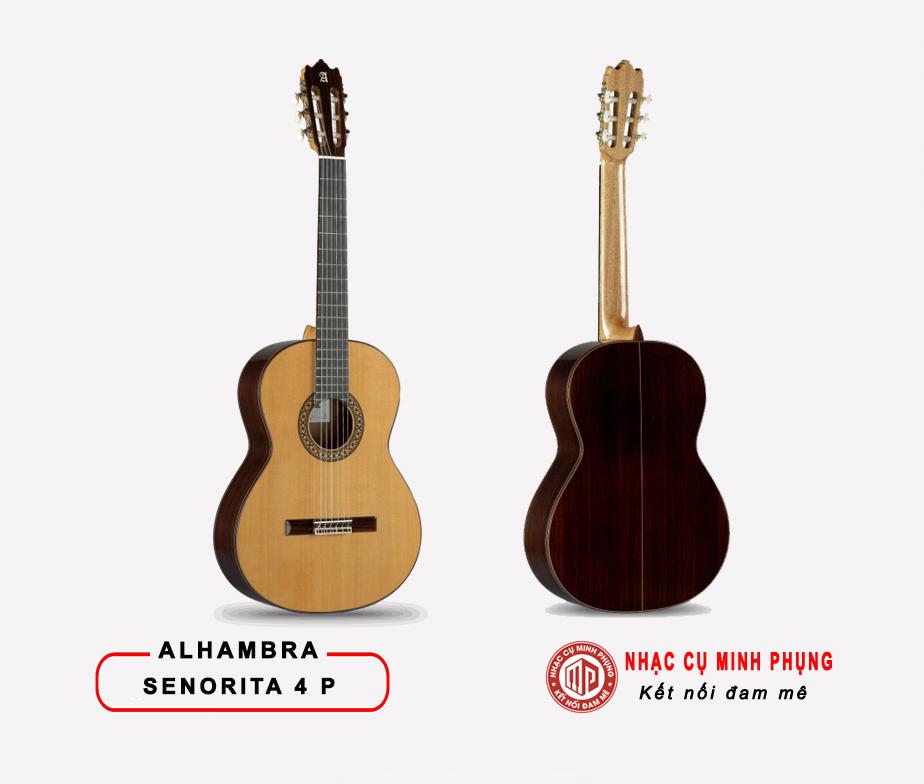 Đàn Guitar Classic Alhambra Senorita 4P