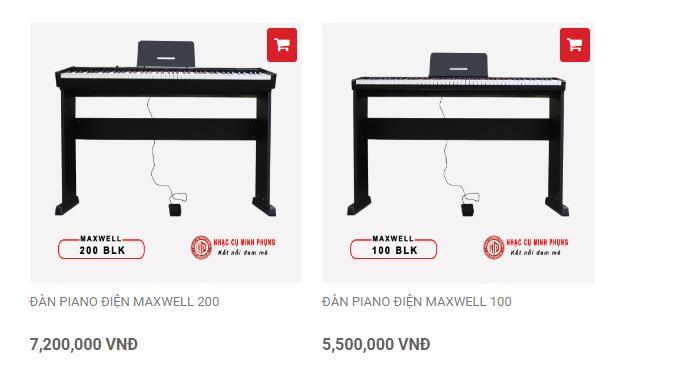 giá maxwell 100 và maxwell 200