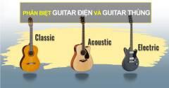 Sự Khác Nhau Giữa Guitar Thùng Và Guitar Điện Là Gì?