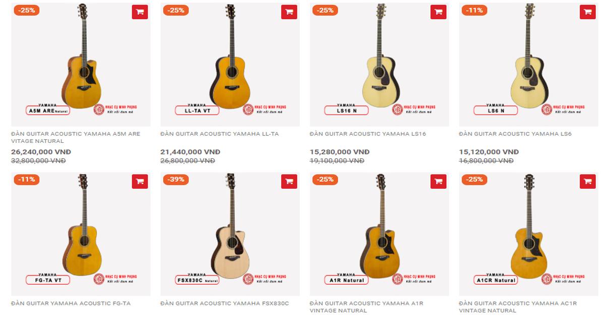 Nên mua đàn guitar acoustic cho người mới học hay mua đàn guitar classic