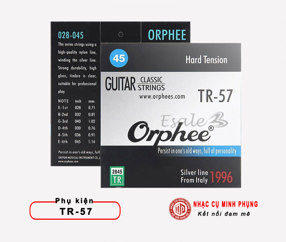 Dây Guitar Nylon Orphee TR-57