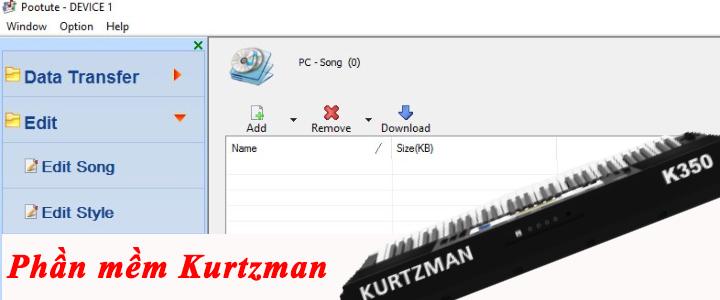 Phần mềm cài điệu Kurtzman