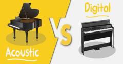 Ưu Điểm Của Đàn Piano Điện So Với Đàn Piano Cơ Có Khác Gì Nhau