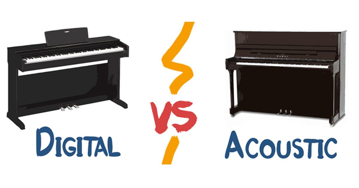 Nhược điểm của đàn piano điện so với đàn piano cơ