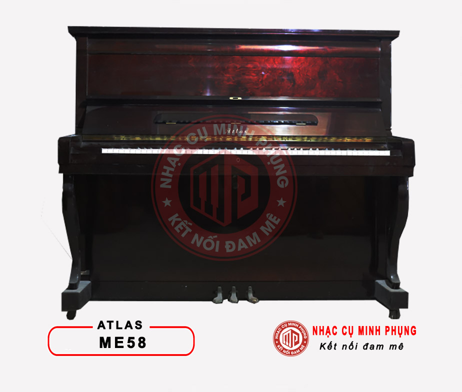 Đàn piano cơ Atlas ME58