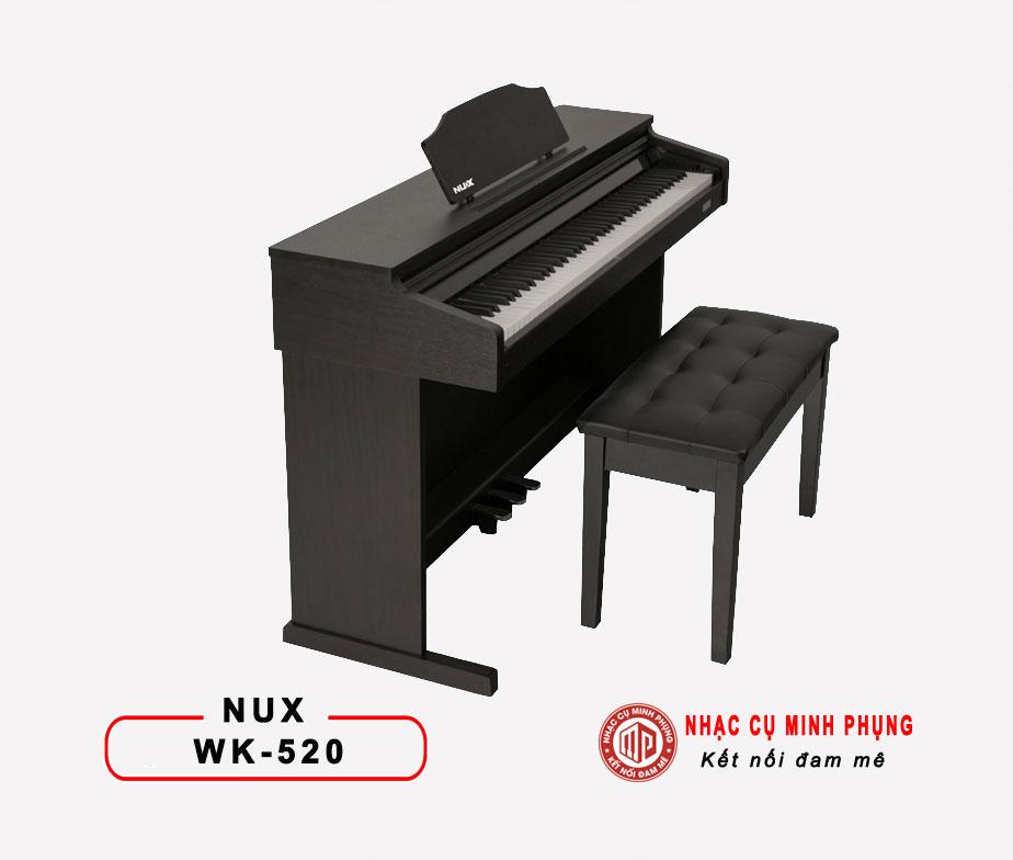 Đàn Piano Điện Nux WK520