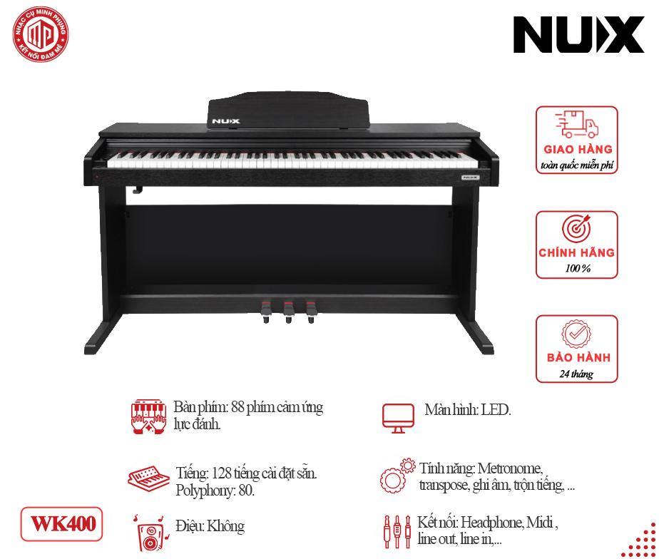 Đàn Piano điện Nux WK400