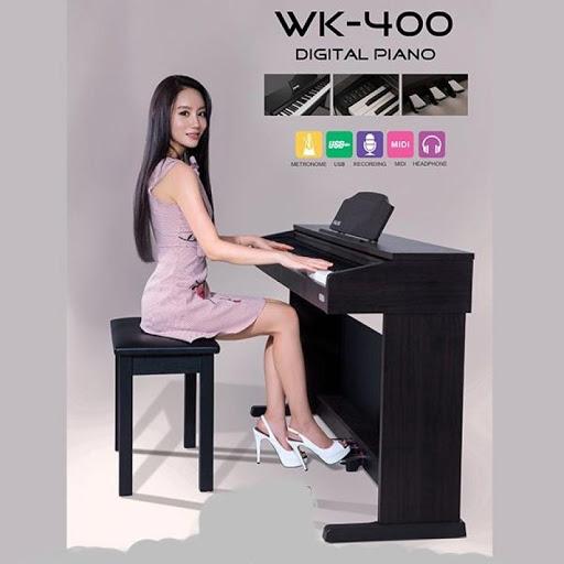 Đàn Piano Điện Nux Wk400: Âm Thanh Và Bàn Phím Chất Lượng Cao