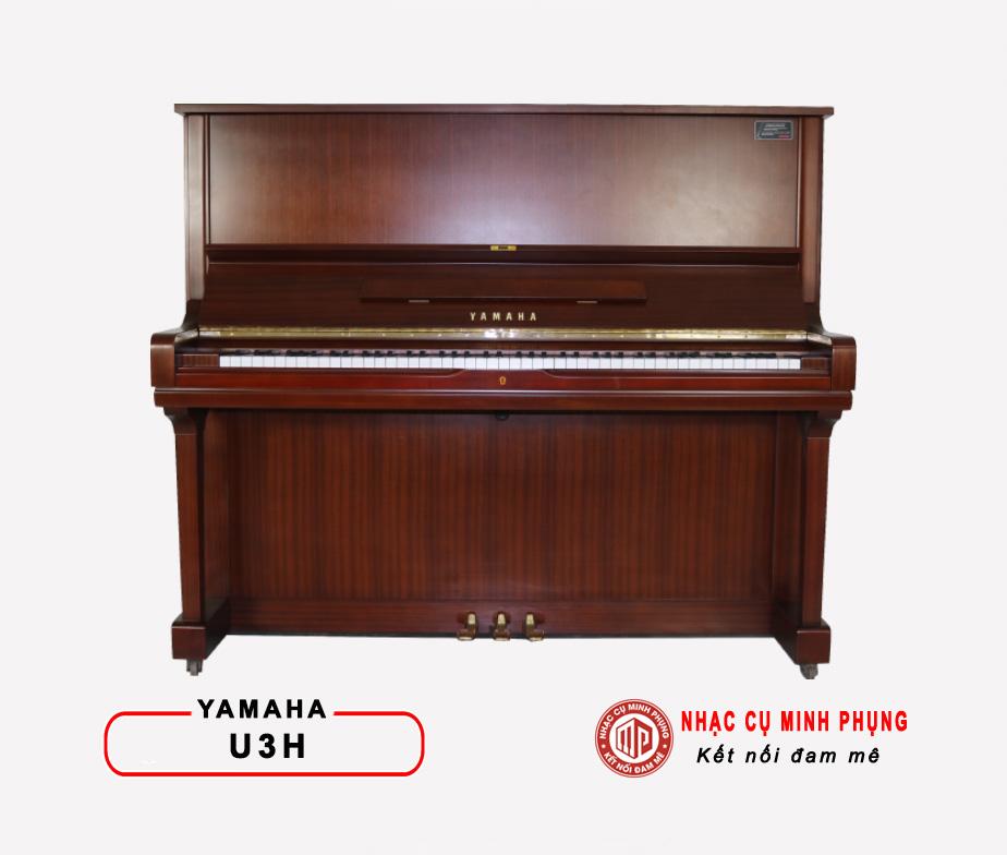 ĐÀN PIANO CƠ YAMAHA U3H (Màu gỗ)